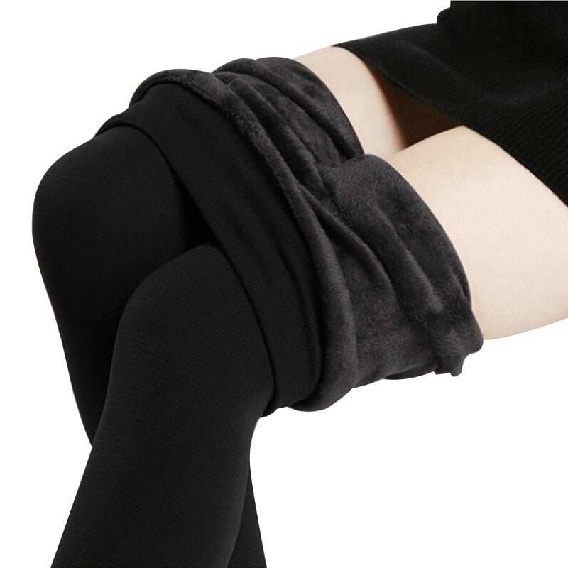 Nessa™: Thick Seamlessly Cashmere Leggings