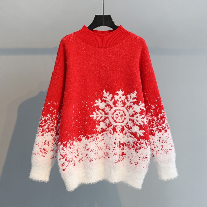 OvaFashion™: Snowflake Women Sweater