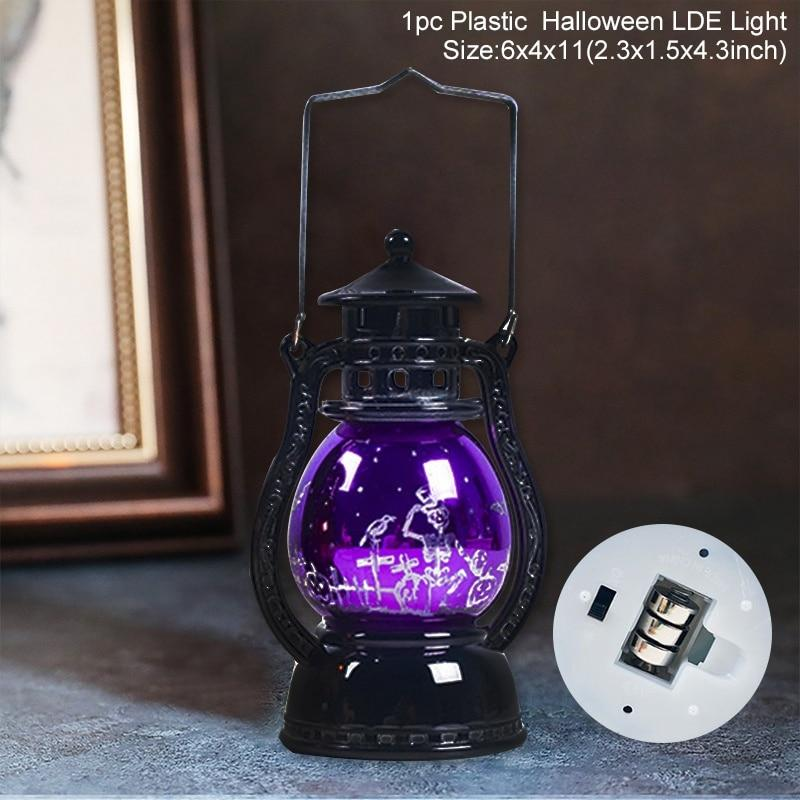 HALLOWEEN Led Lantern Lights & Candles Ornaments (ON SALE)