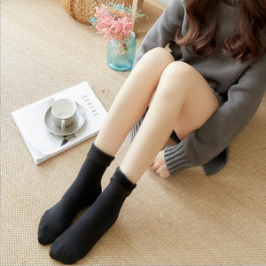LadyWear™: Winter Cozy Thermal Fleece Socks