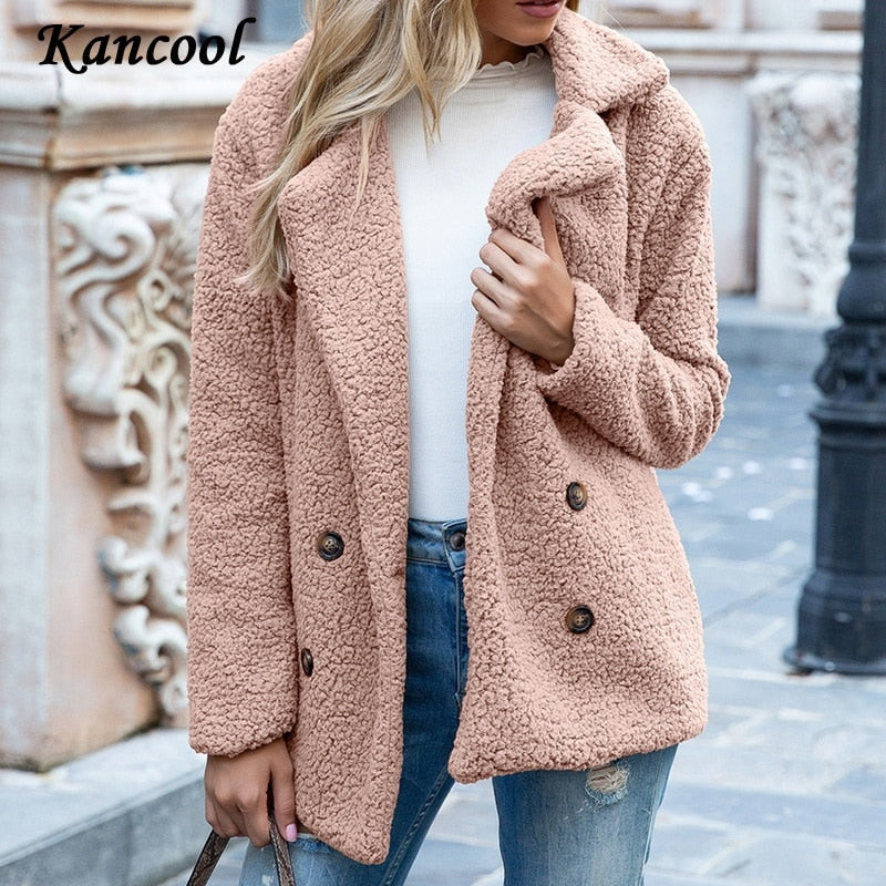 KANCOOL™: Thicken Warm Teddy Fur Jacket