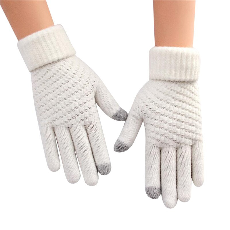 Hazila™: Thermal Touch Screen Knitted Gloves