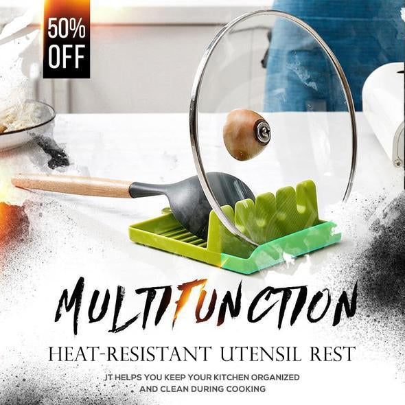 Sparkles™: Heat-Resistant Utensil Rest (60% OFF)