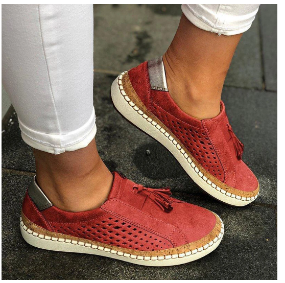 Eazygo™: Women Casual Breathable Flat Bottom Shoes