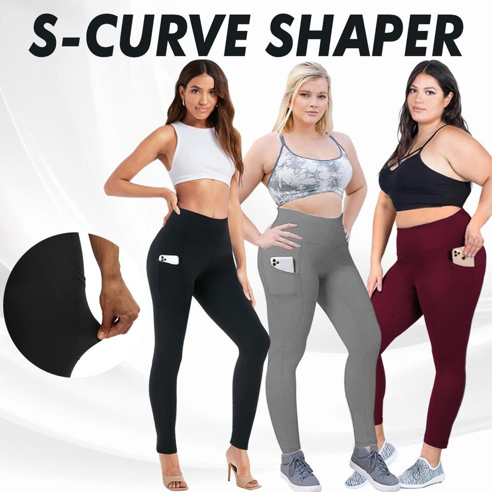Ovashaper™: Align High Waist Stretch Tummy Booty Pockets