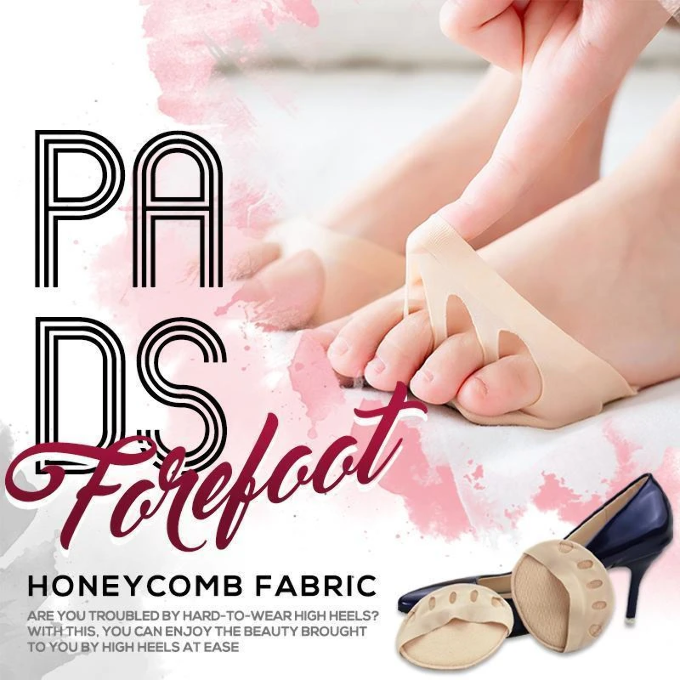 Toesock™: Honeycomb Fabric Forefoot Pads
