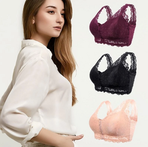 LovelyLace™: Front Closure Ultimate Support Bra