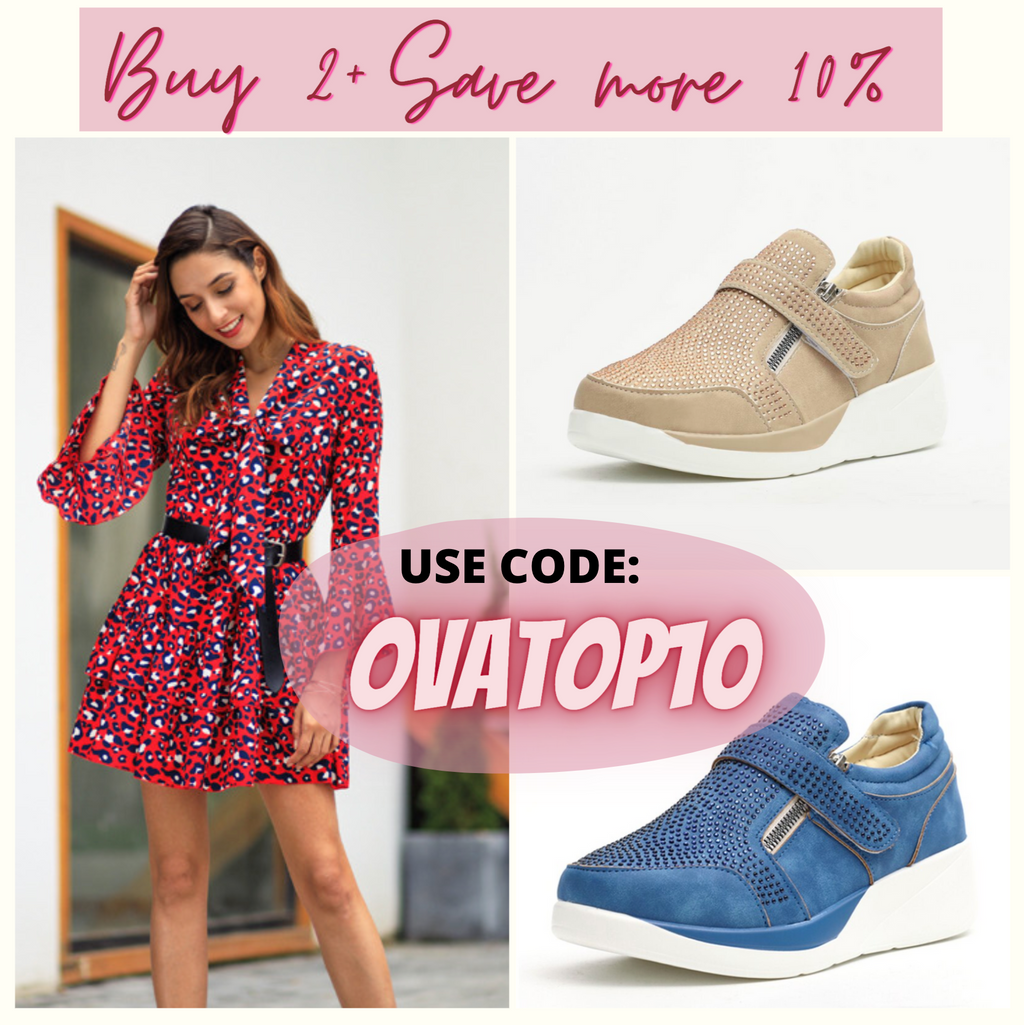 OvaTop™: Women Elegant Orthopedic & Soft Sneakers