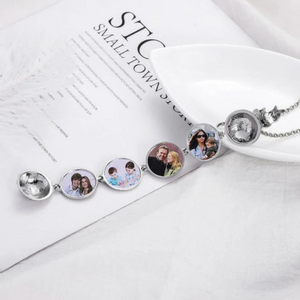 Cartiery™: Memory Keeper Locket Photo Necklace