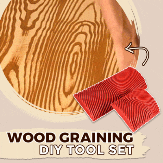 EZHOME™: 2 Pcs Wood Grain Painting Tool (2020 Best Seller 🔥)