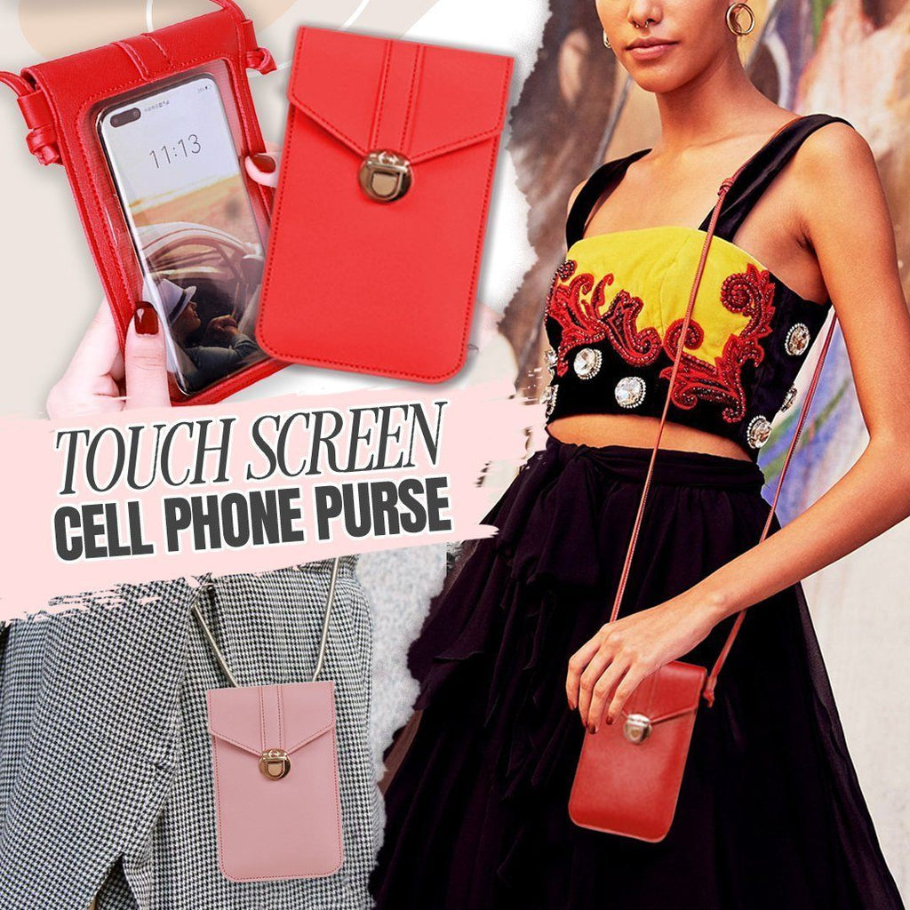 GenieBag™ - Touch Screen Cell Phone Purse