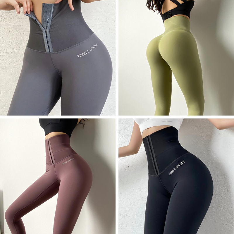 Gymjog ™: High Waist Elastic Fitness Corset Leggings