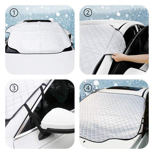 Heidi™: Premium Windshield Snow Cover Sunshade