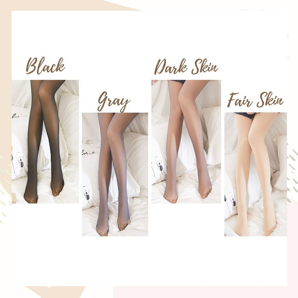 HaraStyle™: Flawless Legs Translucent Fleece Pantyhose