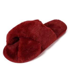 ComfyWalk™: Cross Furry Slippers for Fashion Girls