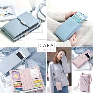CARA PIERRE™: All-In-One Crossbody Phone Bag