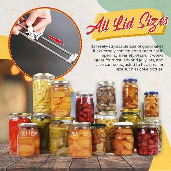 Slibey®: Adjustable Jar & Bottle Opener