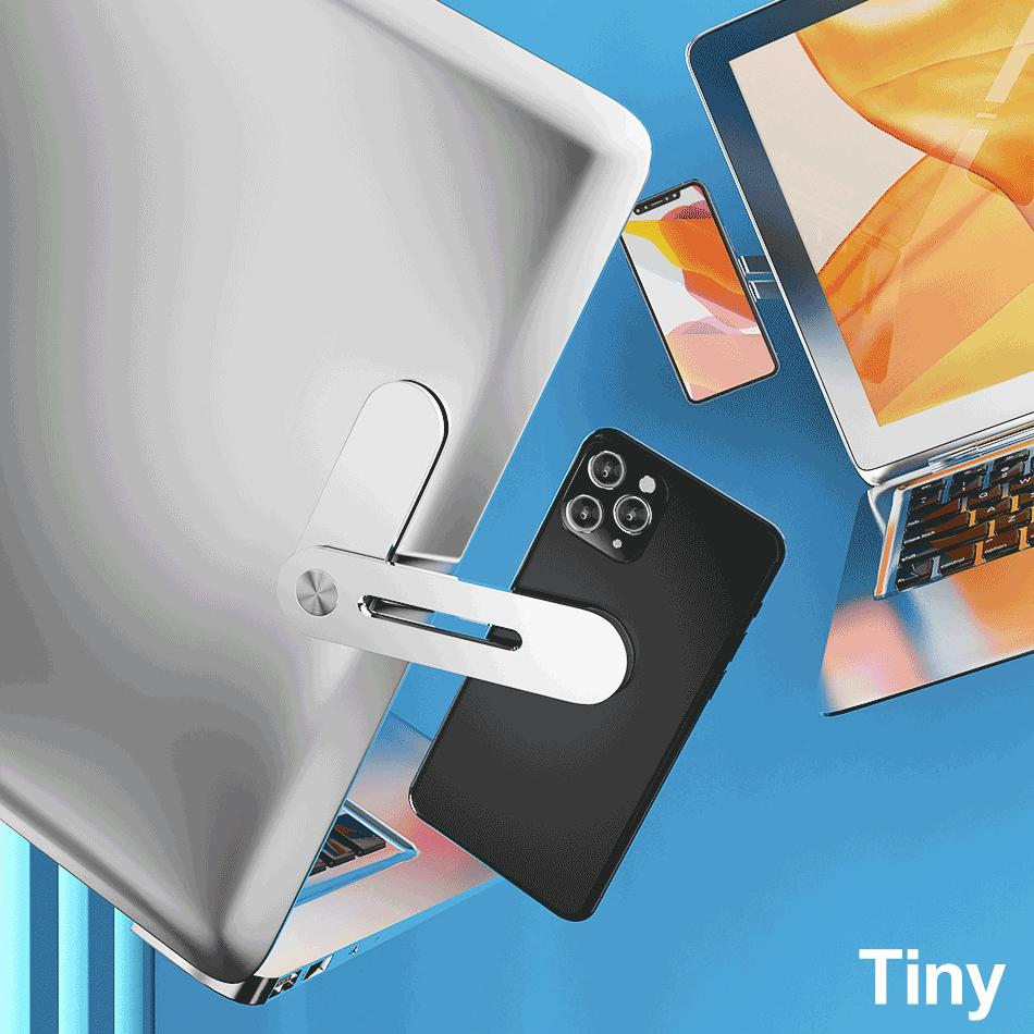 LOGIE™: Adjustable Laptop Side Mount Clip
