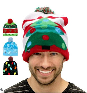 Cozybeanie™: Colorful Xmas LED Beanie Sweater Hats