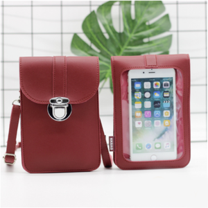 GenieBag™ - Touchable Waterproof Crossbody Phone Bag