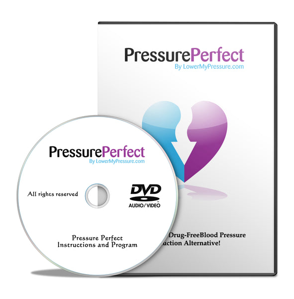 Pressure Perfect DVD - Breathe your way to lower blood pressure! DVD ships to USA only. International customers may purchase our digital download.