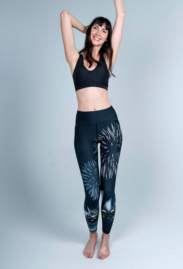 Fireworks Sydney Full Length Leggings