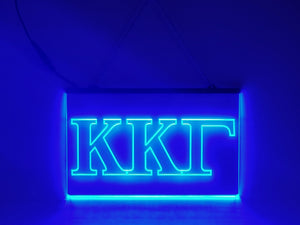 Kappa Kappa Gamma LED Sign Greek Letter Sorority Light