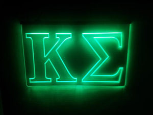 Kappa Sigma LED Sign Greek Letter Fraternity Light