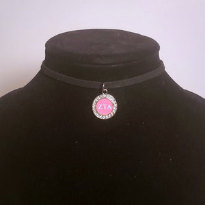 Zeta Tau Alpha Choker Necklace
