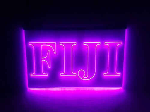 Fiji LED Sign - Phi Gamma Delta Greek Letter Fraternity Light
