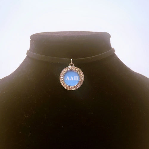 Alpha Delta Pi Choker Necklace