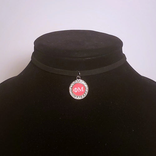 Phi Mu Choker Necklace