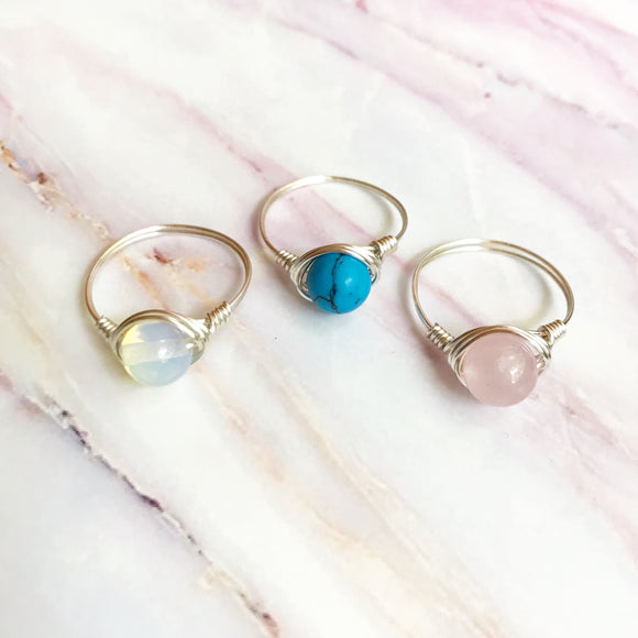 Cotton Candy 3 Ring Bundle