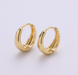 Gold Filled Huggie Hoop Earrings