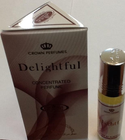 Delightful - 6ml (.2oz) Roll-on Perfume Oil by Al-Rehab (Box of 6)