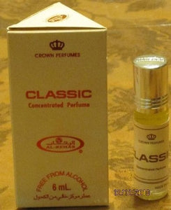 Classic - 6ml (.2oz) Roll-on Perfume Oil by Al-Rehab (Box of 6)