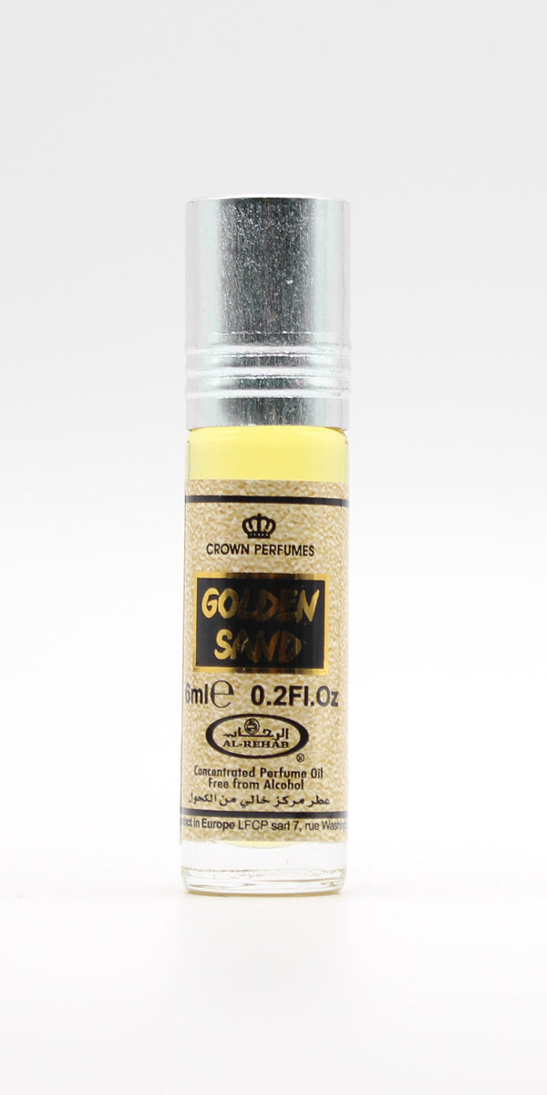 Golden Sand - 6ml (.2oz) Roll-on Perfume Oil by Al-Rehab