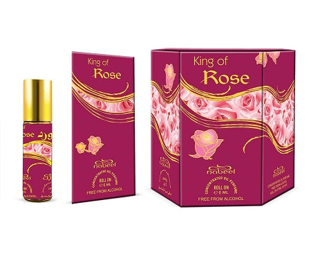 King of Rose - 6ml Rollon Perfume Oil by Nabeel