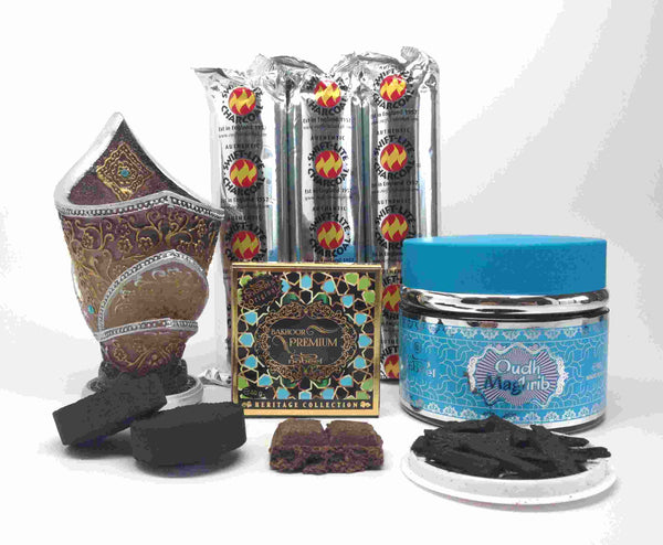 MAGHRIB OUDH and PREMIUM BAKHOOR Gift Set by Nabeel