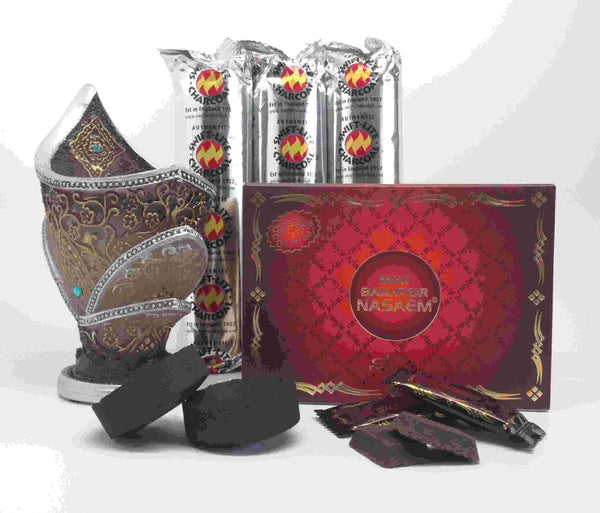 Mini BAKHOOR NASAEM Incense Gift Set by Nabeel