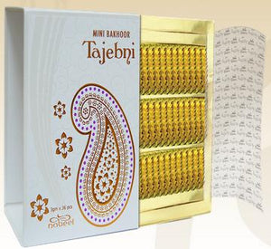 Mini Bakhoor Incense Tajebni by Nabeel (Box of 36 x 3g)