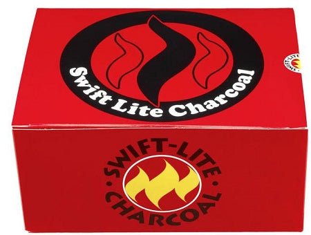 Swift Lite- Pack of 100 x 40 mm charcoal Tablets (for incense/Shisha )