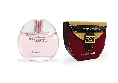 Active Woman - 80ml Natural Spray Perfume by Chris Adams