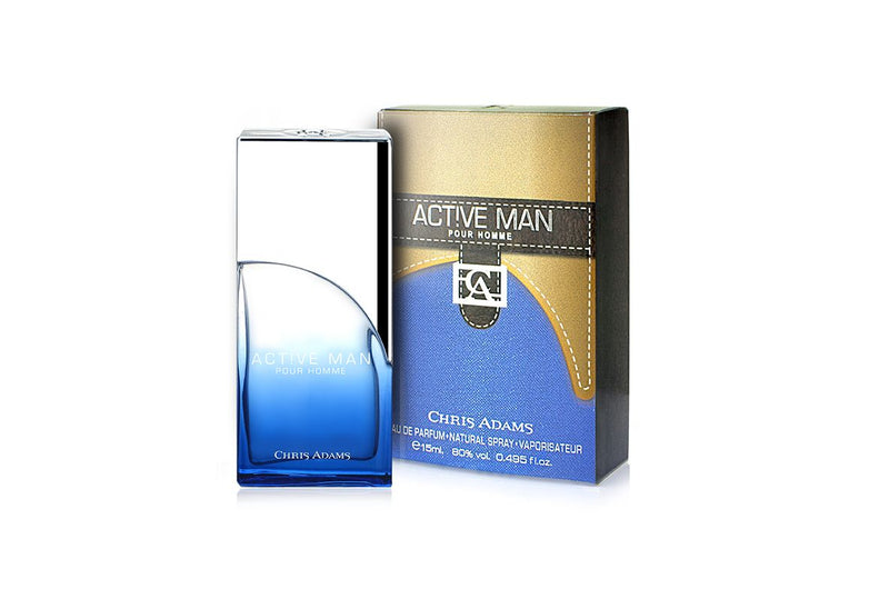 Active Man - 15ml Miniature Spray Perfume by Chris Adams