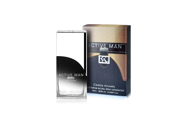 Active Man Noire - Miniature 15ml Spray Perfume by Chris Adams