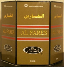 Load image into Gallery viewer, Al Fares - 6ml (.2oz) Roll-on Perfume Oil by Al-Rehab (Box of 6)