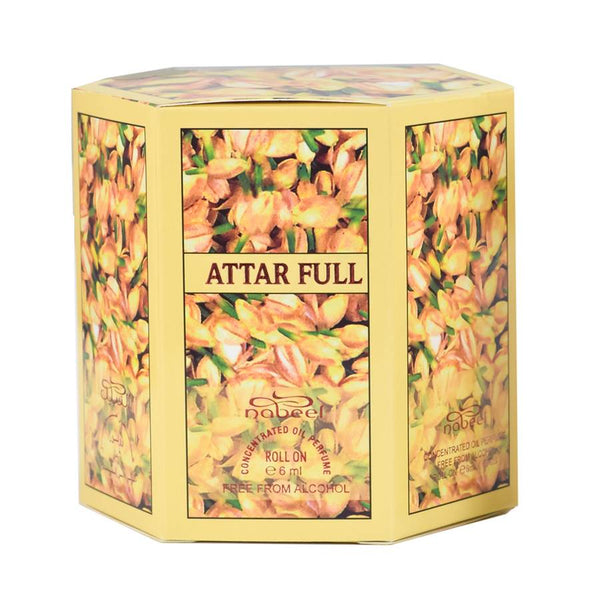 Attar Full - Box 6 x 6ml Roll-on Perfume Oil by Nabeel