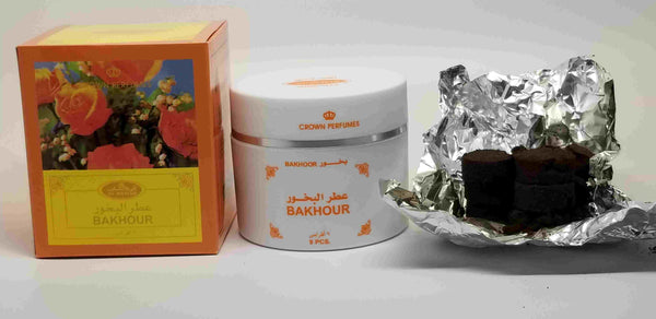 Bakhoor Incense by AlRehab (9 pieces about 66gms/2.4oz)