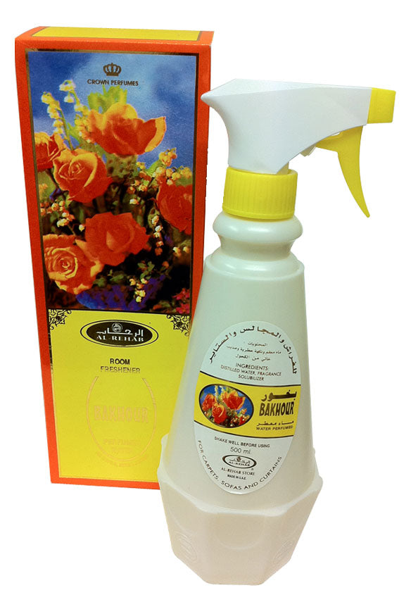 Bakhour Room Freshener by Al-Rehab (500 ml - 16.90 Fl oz)