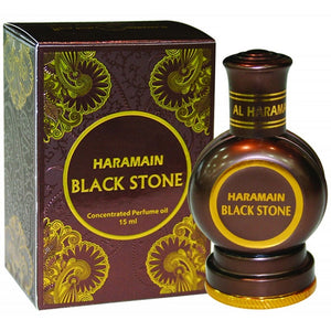 Al Haramain Black Stone- Oriental Perfume Oil [15 ml]